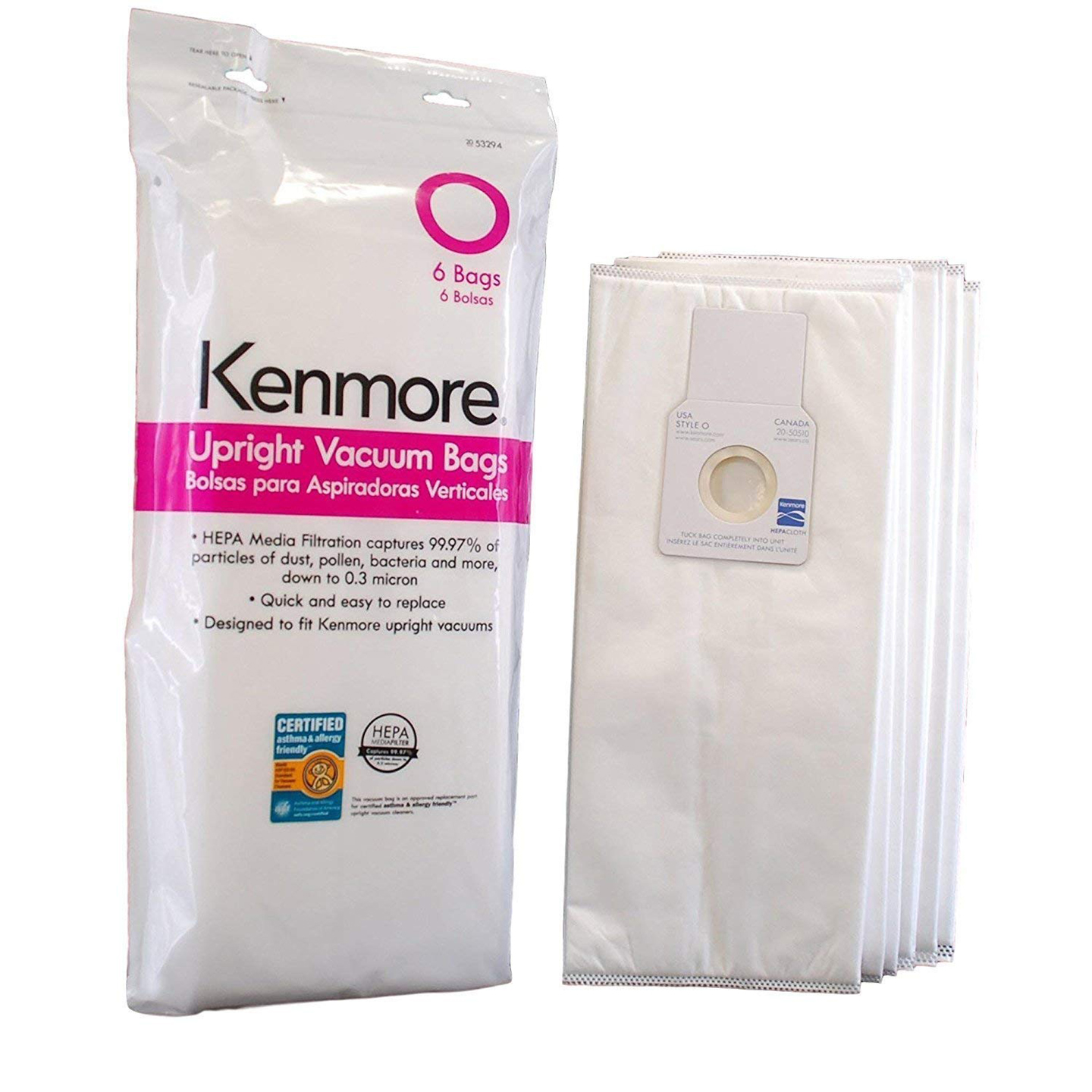 Replacement Filter for Kenmore O(6-pack)