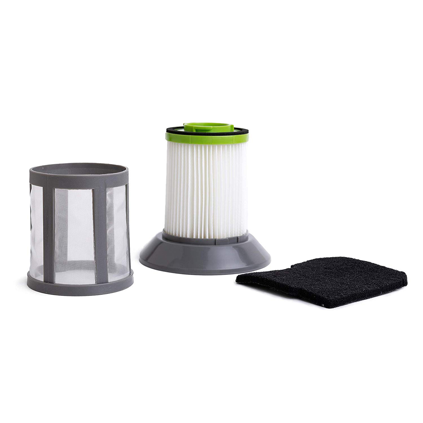 Green Label Replacement Filter Kit 1608602 for Bissell Zing Bagless Canister Cleaners